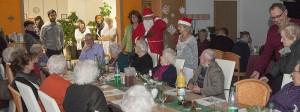Weihnachtsfeier-2014 Vital Pflegedienst